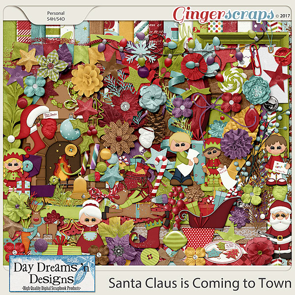 Santa Claus is Coming to Town {Kit} by Day Dreams 'n Designs