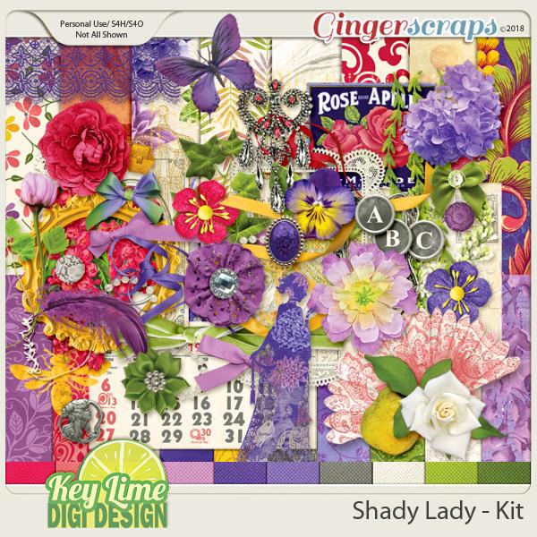 Shady Lady Kit by Key Lime Digi Design