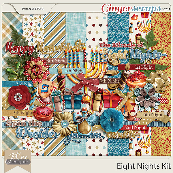 Eight Nights Kit by JoCee Designs