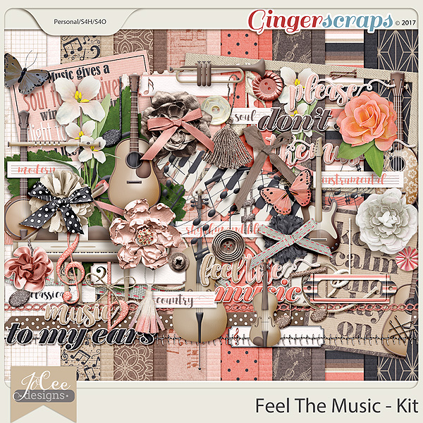 Feel The Music Kit by JoCee Designs