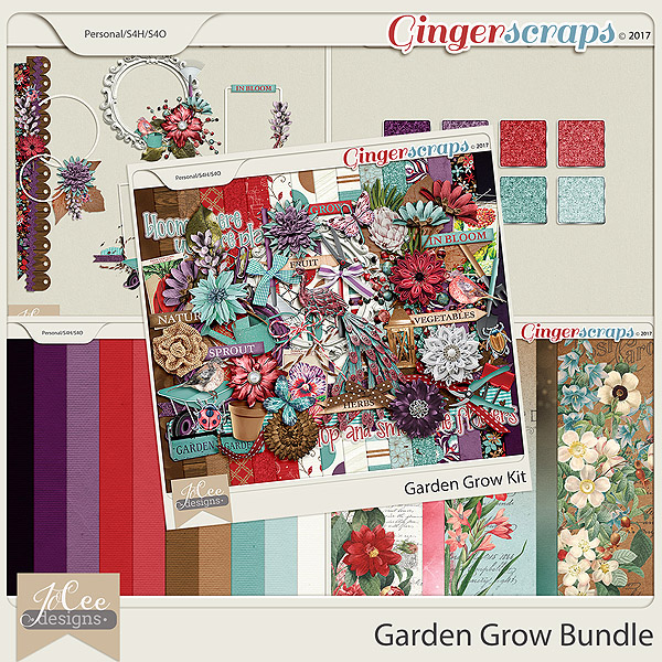 Garden Grow Bundle by JoCee Designs