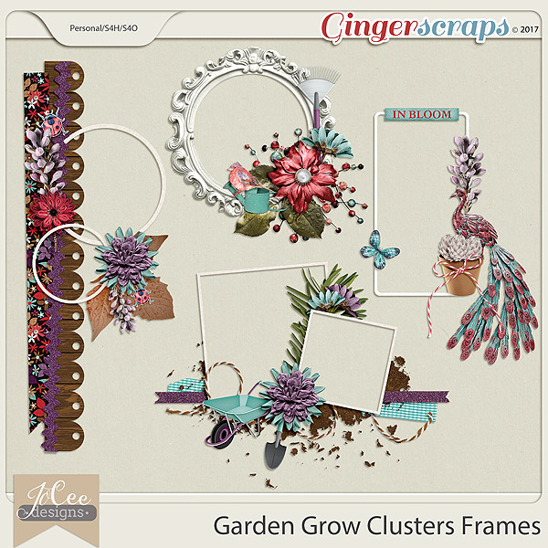 Garden Grow Clusters by JoCee Designs