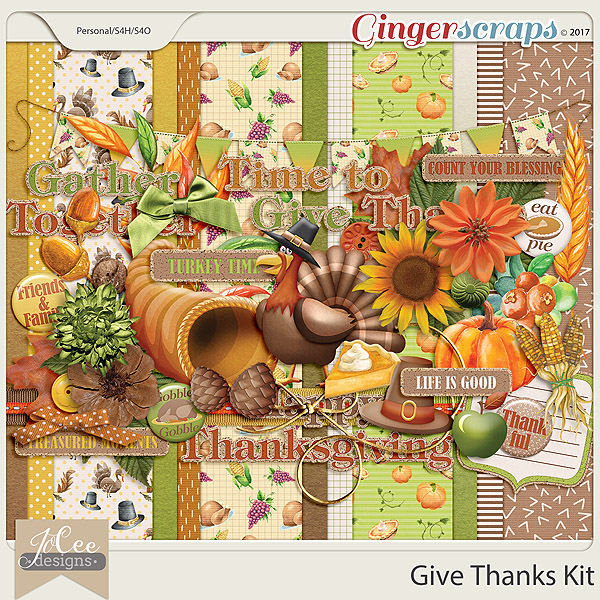 Give Thanks Kit by JoCee Designs