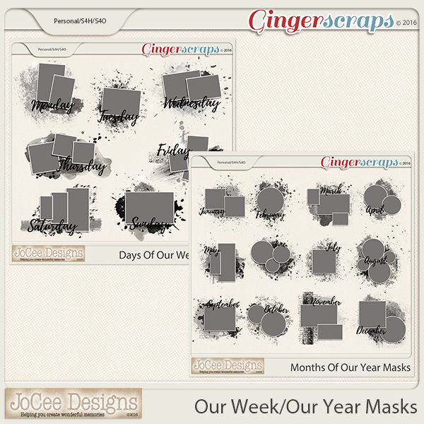 Our Week/Our Year Masks