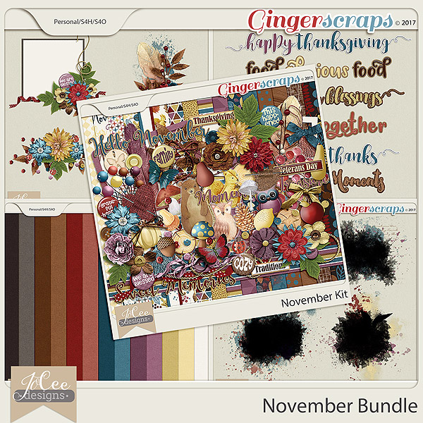 November Bundle by JoCee Designs
