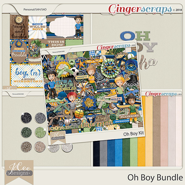 Oh Boy Bundle by JoCee Designs