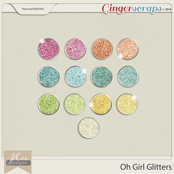 Oh Girl Glitters by JoCee Designs