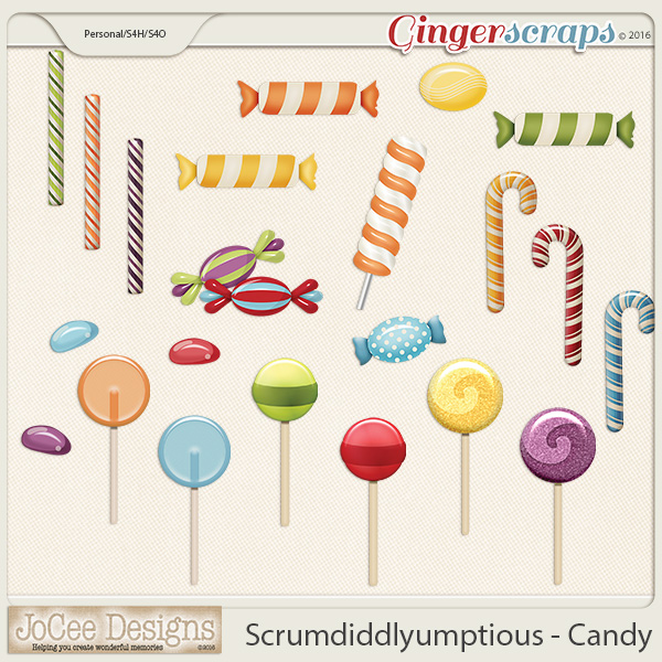 Scrumdiddlyumptious Candy Elements