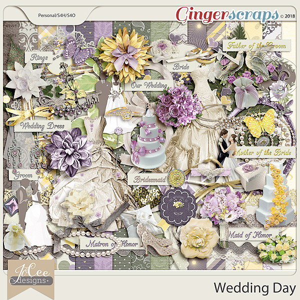 Wedding Day Kit by JoCee Design