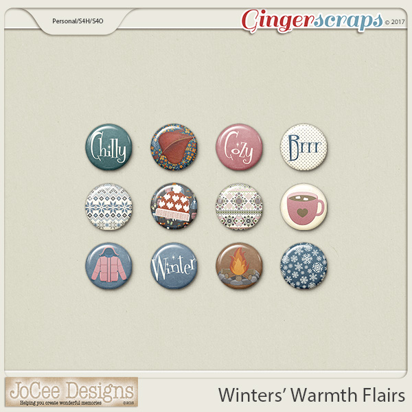 Winters' Warmth Flairs