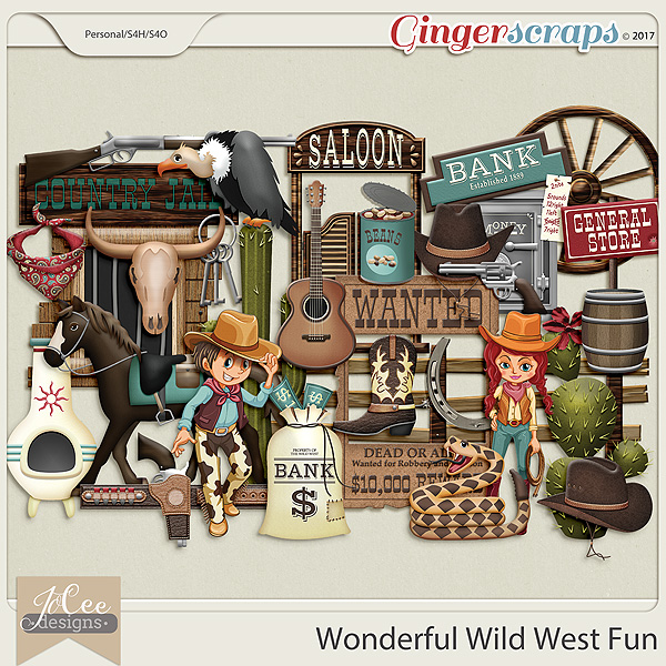 Wonderful Wild West Fun by JoCee Designs