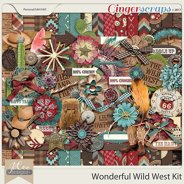 Wonderful Wild West Kit by JoCee Designs