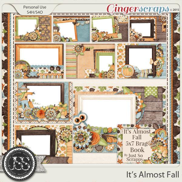 It's Almost Fall 5x7 Brag Book