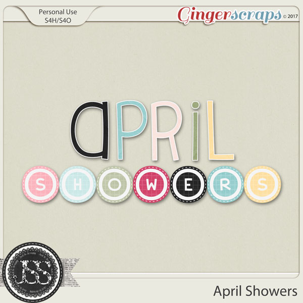 April Showers Alphabets