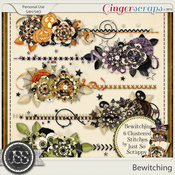 Bewitching Cluster Stitches