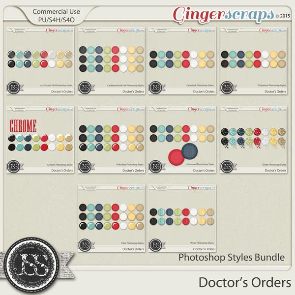 Doctors Orders Photoshop Style Bundle