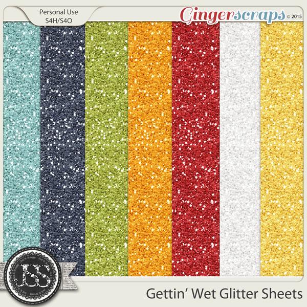 Gettin Wet Glitter Sheets