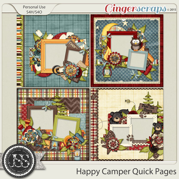 Happy Camper Quick Pages