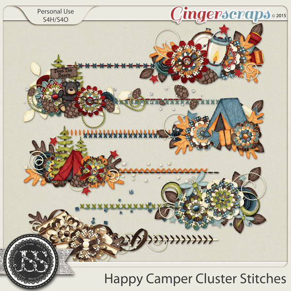 Happy Camper Cluster Stitches