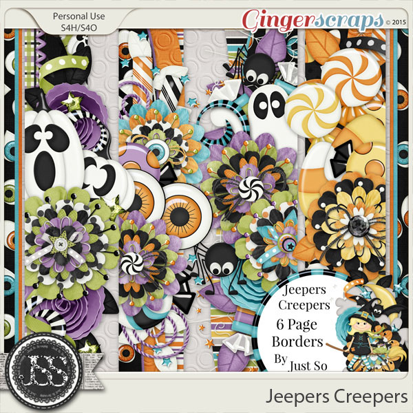Jeepers Creepers Page Borders