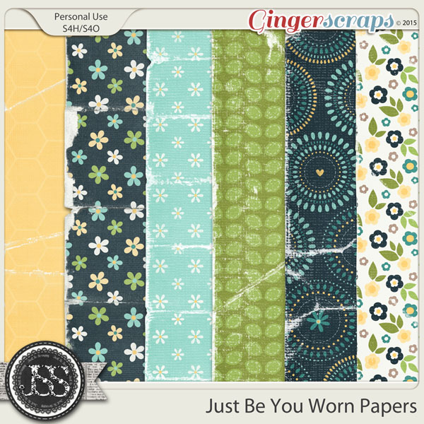 Just Be You Worn Papers