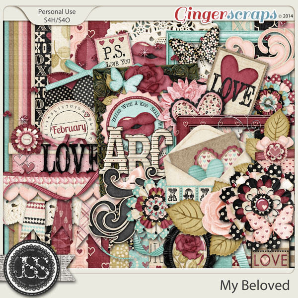 My Beloved Digital Scrapbook Kit