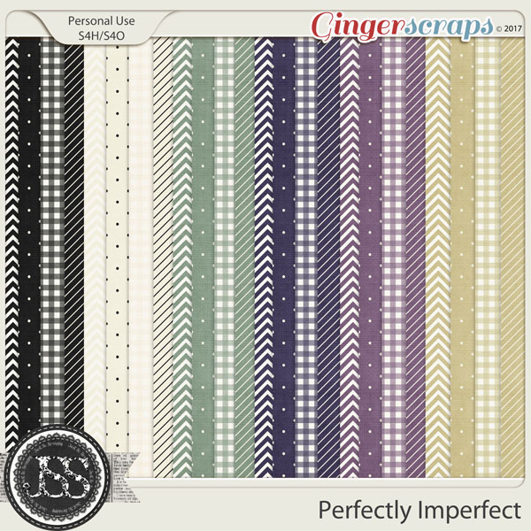 Perfectly Imperfect Pattern Papers