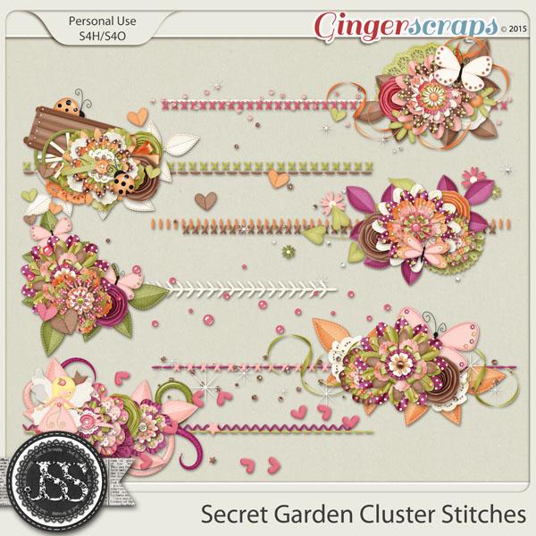 Secret Garden Cluster Stitches