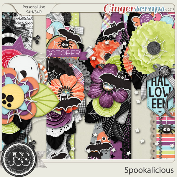 Spookalicious Page Borders