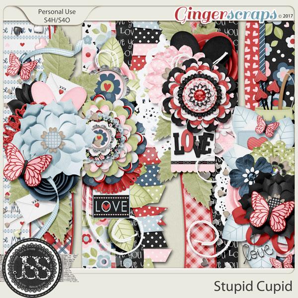 Stupid Cupid Page Borders