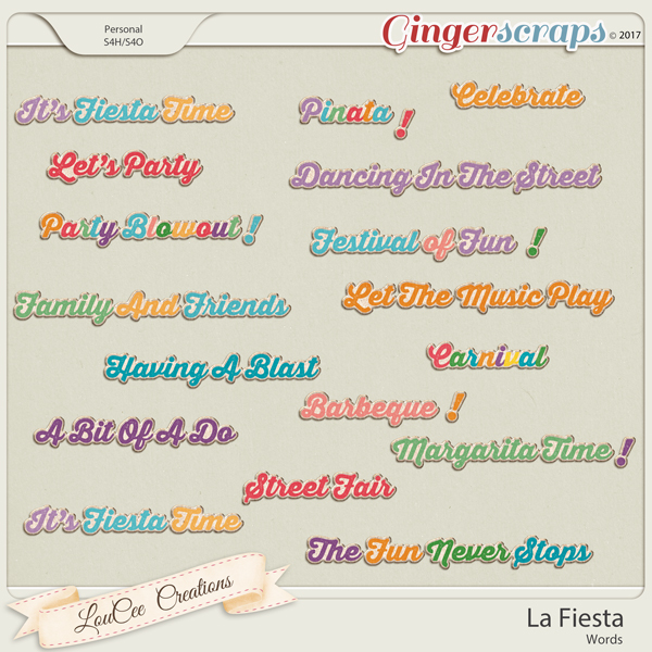 La Fiesta Words