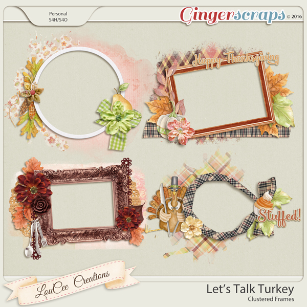 Let's Talk Turkey Clustered Frames