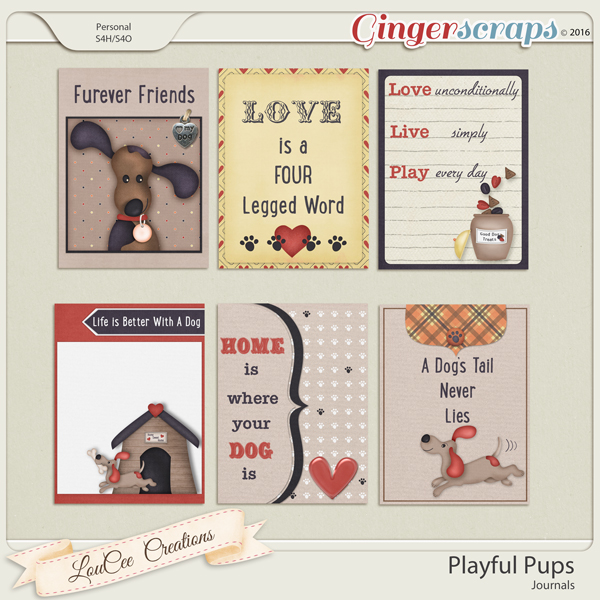Playful Pups Journals