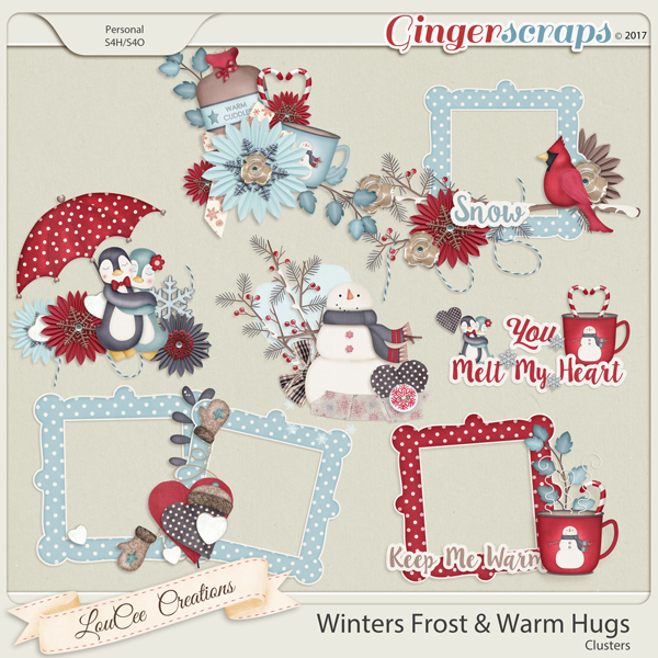 Winter's Frost and Warm Hugs Clusters