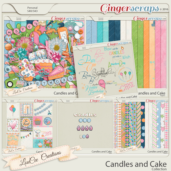 Candles and Cake Collection