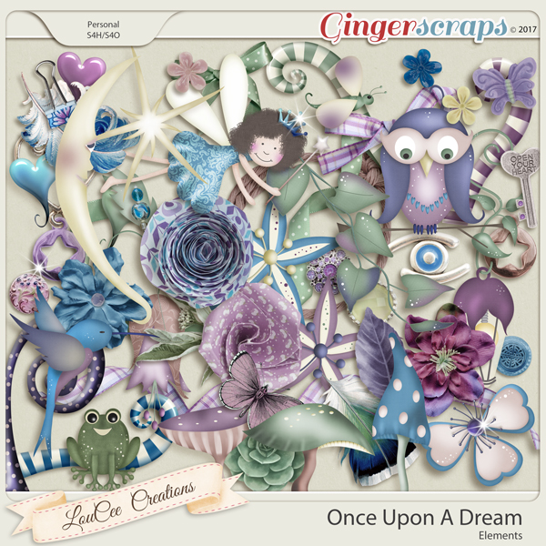 Once Upon A Dream Elements by LouCee Creations