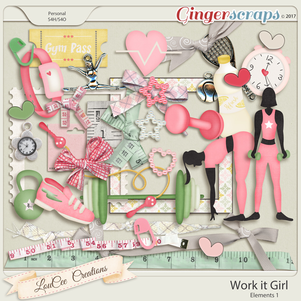 Work It Girl Elements 1 by LouCee Creations