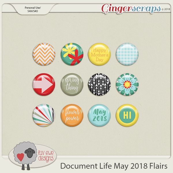 Document Life May 2018 Flairs by Luv Ewe Designs