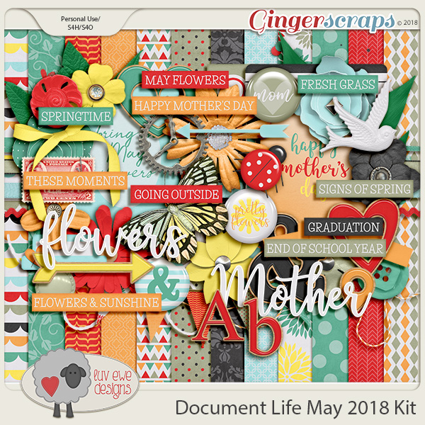 Document Life May 2018 Kit by Luv Ewe Designs