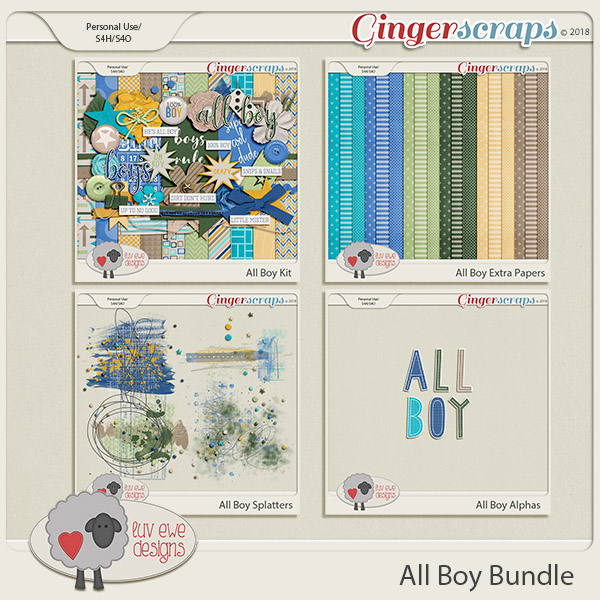 All Boy Bundle by Luv Ewe Designs