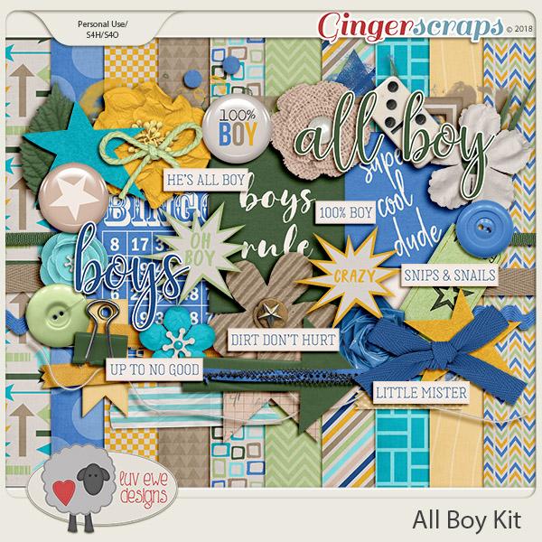 All Boy Kit by Luv Ewe Designs