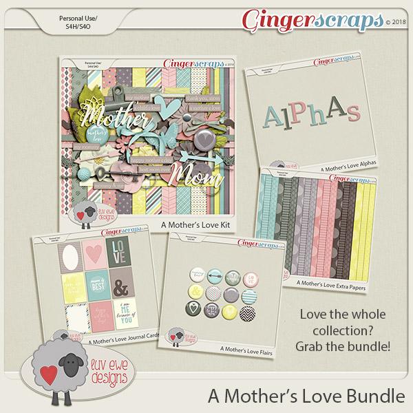A Mother's Love Bundle by Luv Ewe Designs