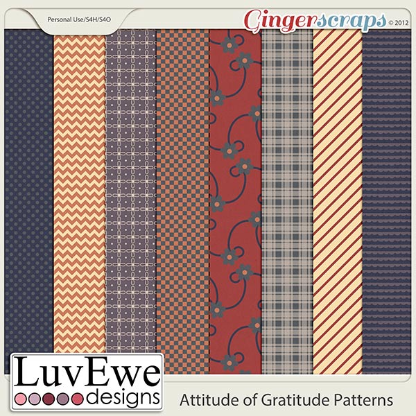 Attitude of Gratitude Patterns