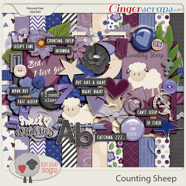 Counting Sheep Kit by Luv Ewe Designs