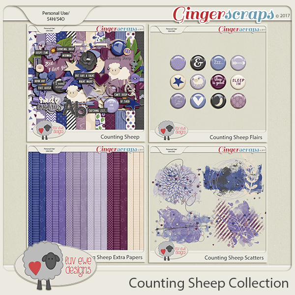 Counting Sheep Collection by Luv Ewe Designs