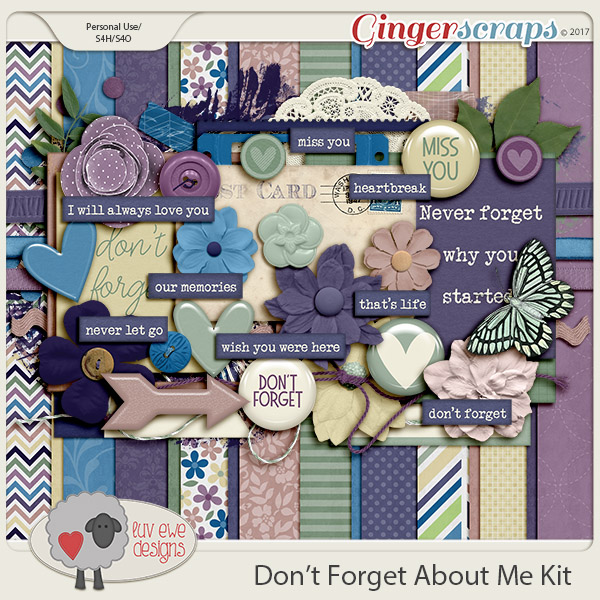 Don't Forget About Me Kit by Luv Ewe Designs