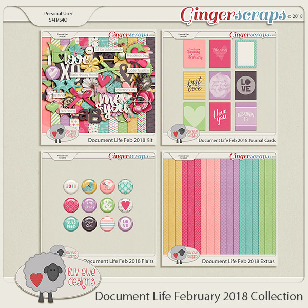 Document Life February 2018 Collection by Luv Ewe Designs