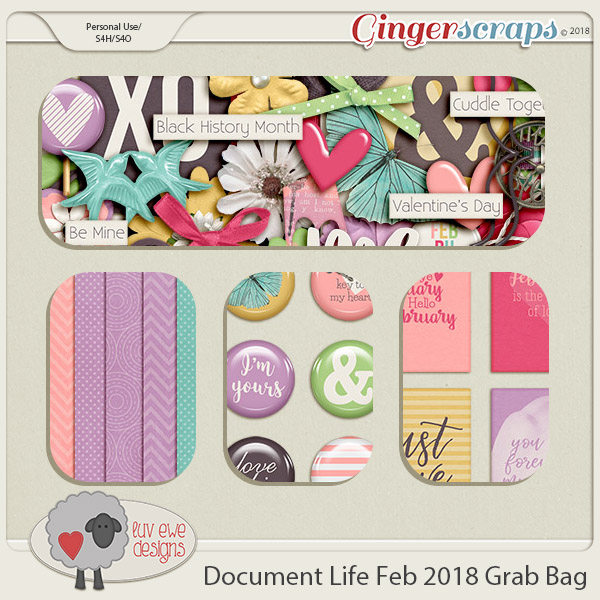 Document Life February 2018 Grab Bag by Luv Ewe Designs