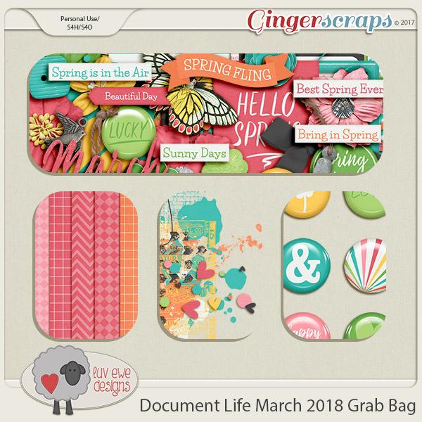 Document Life March 2018 Grab Bag by Luv Ewe Designs