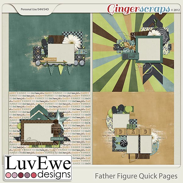 Father Figure Quick Pages